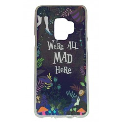 Samsung Galaxy S9 PLUS We´re all mad here - Alice I Underlandet