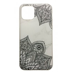 iPhone 11 Marmor Spets Lace Henna Marble