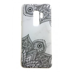 Samsung Galaxy S9 PLUS Marmor Spets Lace Henna Marble